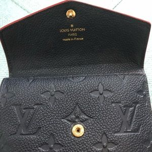 Louis Vuitton Accessories - 🎉 Louis Vuitton Empreinte Leather Key Card Holder